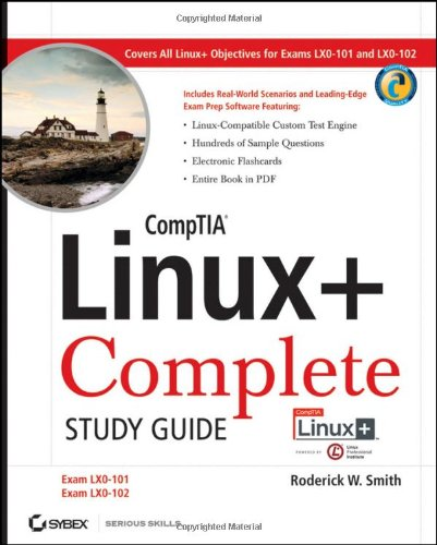 CompTIA Linux+ Exams LX0-101 and LX0-102  2010 (Guide (Pupil's)) edition cover