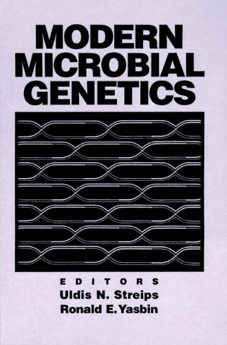 Modern Microbial Genetics  1st 1991 9780471568452 Front Cover