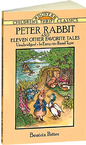 Peter Rabbit and Eleven Other Favorite Tales   1993 (Reprint) edition cover