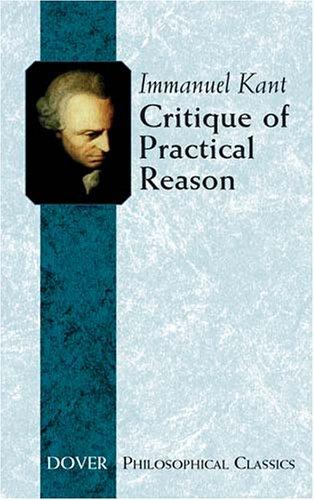 Critique of Practical Reason   2004 edition cover
