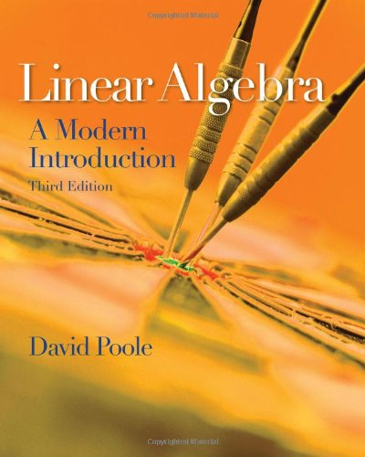 Linear Algebra A Modern Introduction 3rd 2011 9780538735452 Front Cover