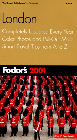 London 2001 Completely Updated Every Year, Color Photos and Pull-Out Map, Smart Travel Tips from A to Z  2001 (Revised) 9780679005452 Front Cover