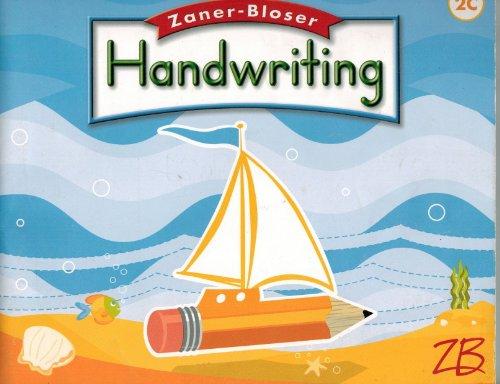 Zaner Bloser Handwriting: Grade 2, Cursive  2008 9780736751452 Front Cover