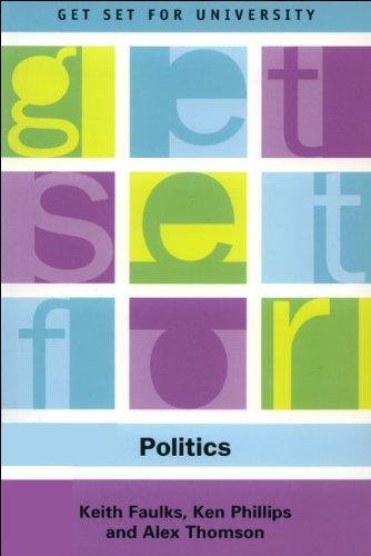 Get Set for Politics   2003 9780748615452 Front Cover