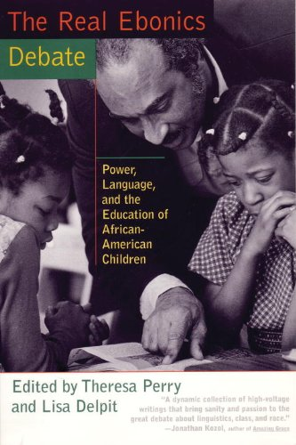 Real Ebonics Debate : Power, Language and the Education of African-American Children  1998 edition cover