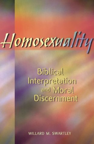 Homosexuality Biblical Interpretation and Moral Discernment  2003 edition cover