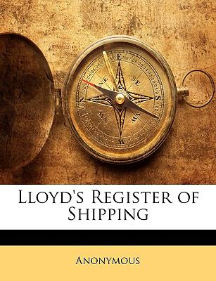 Lloyd's Register of Shipping  N/A edition cover