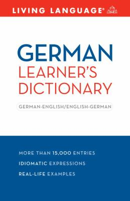 Complete German: the Basics (Dictionary)  Large Type 9781400024452 Front Cover