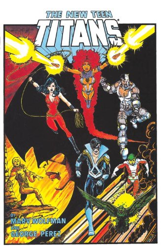 New Teen Titans Omnibus   2013 9781401238452 Front Cover