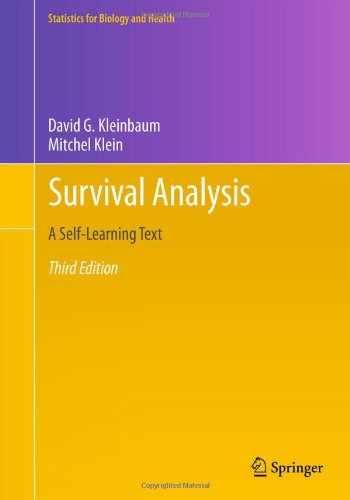 Survival Analysis A Self-Learning Text, Third Edition 3rd 2012 edition cover