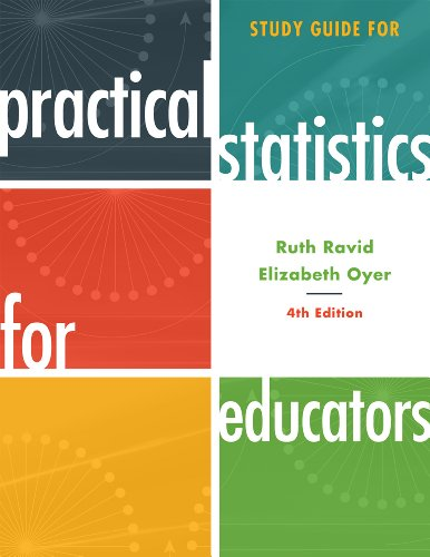 Study Guide for Practical Statistics for Educators  4th edition cover