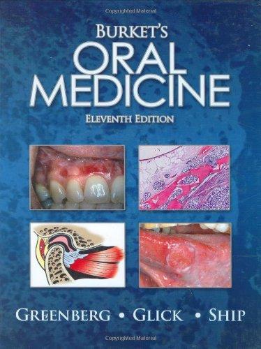 Burket's Oral Medicine  11th 2008 9781550093452 Front Cover