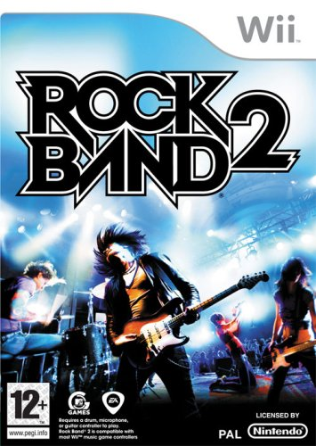 Rock Band 2 (Wii) Nintendo Wii artwork