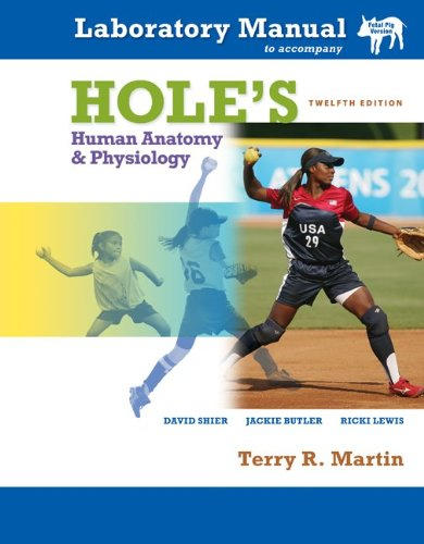 Hole's Human Anatomy and Physiology  12th 2010 edition cover