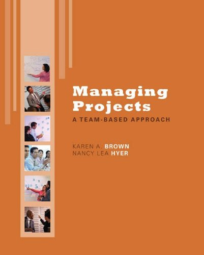Managing Projects A Team-Based Approach  2010 edition cover