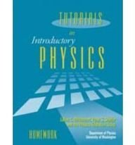 TUTORIALS IN INTRO.PHYSICS-HOM 1st edition cover