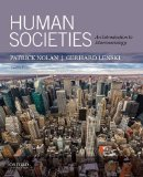 Human Societies: An Introduction to Macrosociology 11th 2014 edition cover