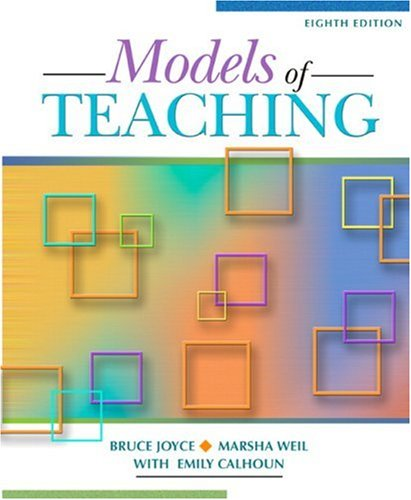Models of Teaching  8th 2009 edition cover