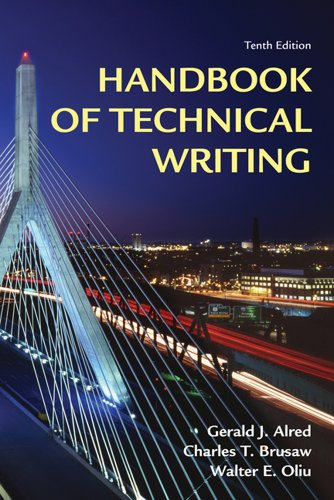 Handbook of Technical Writing  10th 2012 edition cover