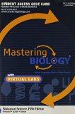 Biological Science Masteringbiology With Masteringbiology Virtual Lab Full Suite Standalone Access Card:   2013 edition cover