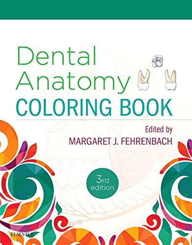 Dental Anatomy Coloring Book  3rd 2019 9780323473453 Front Cover