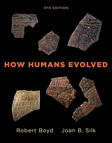 How Humans Evolved:   2017 9780393603453 Front Cover