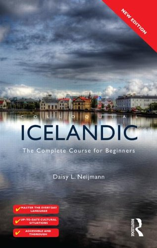 Colloquial Icelandic The Complete Course for Beginners 2nd 2013 (Revised) edition cover