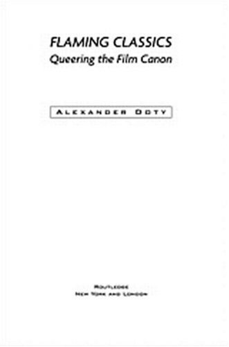 Flaming Classics Queering the Film Canon  2000 edition cover