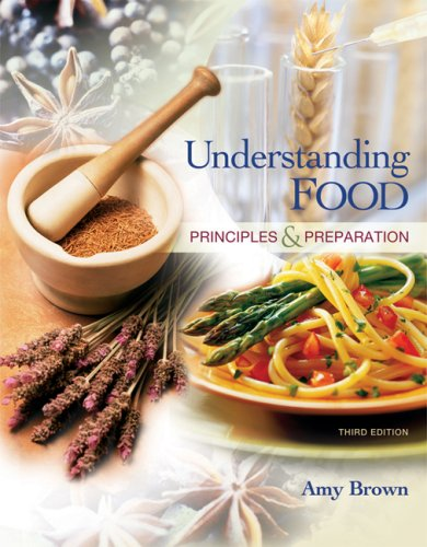 Understanding Food Principles and Preparation 3rd 2008 edition cover