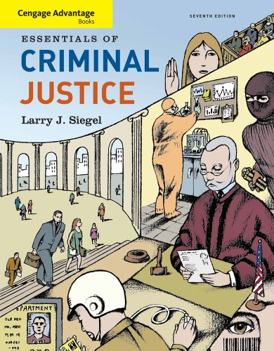 Cengage Advantage Books: Essentials of Criminal Justice  7th 2011 9780538738453 Front Cover