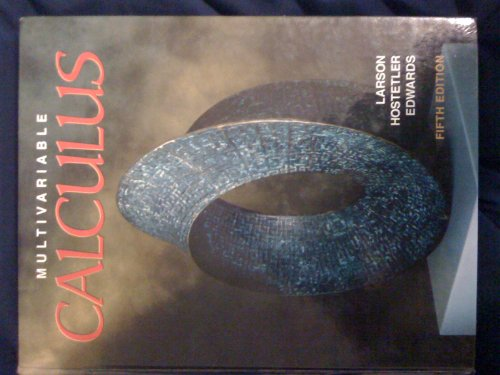 Multivariable Calculus 5th 1994 9780669393453 Front Cover