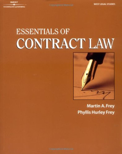 Essentials of Contract Law   2001 edition cover