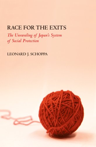 Race for the Exits The Unraveling of Japan's System of Social Protection  2008 edition cover