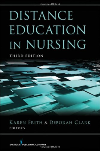Distance Education in Nursing, 3rd Edition  3rd 2013 edition cover