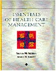 Essentials of Health Care Management  1st 1997 edition cover