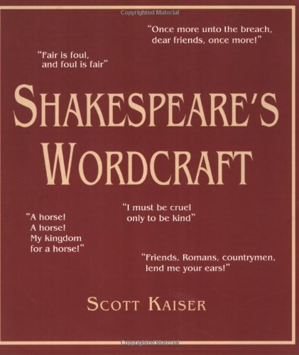 Shakespeare's Wordcraft  N/A edition cover