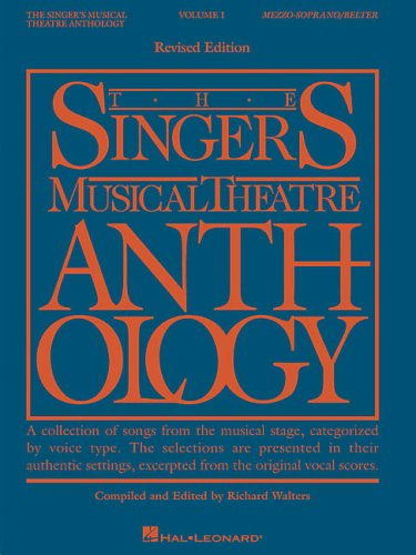 Singer's Musical Theatre Anthology   2008 (Revised) edition cover