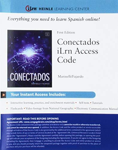 CONECTADOS-ILRN ACCESS CARD             N/A edition cover