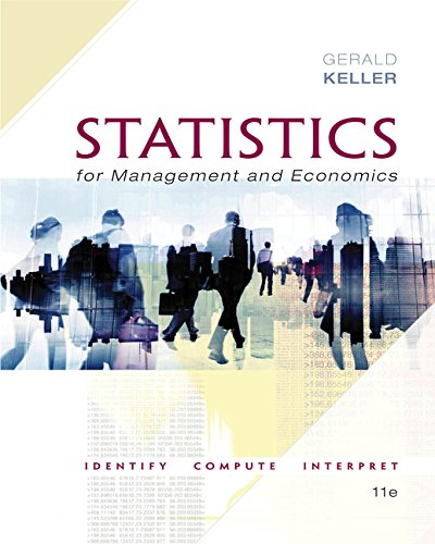 Statistics for Management and Economics + Xlstat Bind-in:   2017 9781337093453 Front Cover