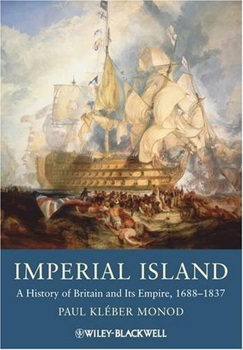 Imperial Island A History of Britain and Its Empire, 1660-1837  2009 edition cover