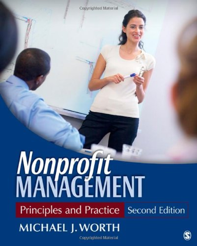 Nonprofit Management Principles and Practice 2nd 2012 edition cover