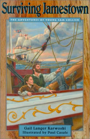 Surviving Jamestown The Adventures of Young Sam Collier  2001 edition cover