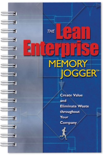 Lean Enterprise Memory Jogger Creating Value and Eliminating Waste Throughout Your Company  2002 edition cover