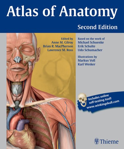 Atlas of Anatomy  2nd 2012 edition cover