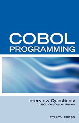 Cobol Programming Interview Questions Co N/A 9781933804453 Front Cover