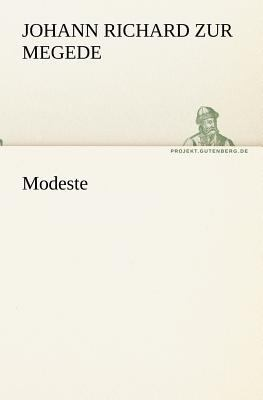 Modeste  N/A 9783842409453 Front Cover