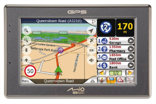 Mio C520 4.3-Inch Widescreen Bluetooth Portable GPS Navigator product image