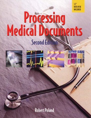 Processing Medical Documents  2nd 2000 (Revised) edition cover