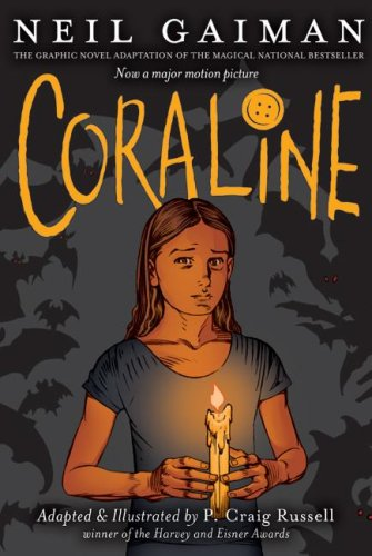 Coraline Graphic Novel  N/A 9780060825454 Front Cover