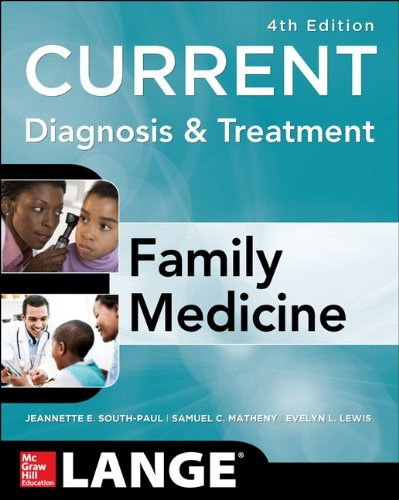 Current Diagnosis and Treatment - Family Medicine 4th 2015 edition cover